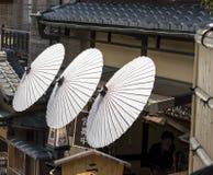 декоративный японский зонтик Стоковые Изображения RF
