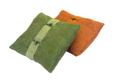 2 декоративных подушки Стоковое Изображение RF