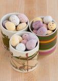 Миниые пасхальные яйца Стоковое Фото