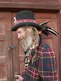 ексцентрическый джентльмен более старый Стоковое Изображение