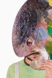 Ексцентрическый портрет художника стоковое фото