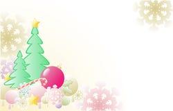 ели рождества предпосылки Иллюстрация штока