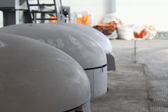Емкость для термической обработки металла Стоковые Изображения RF