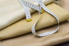 лента ткани измеряя Стоковая Фотография