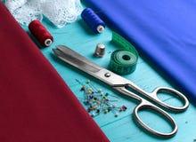 лента ткани для удаления измерений Стоковые Изображения