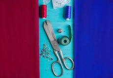 лента ткани для удаления измерений Стоковые Фотографии RF