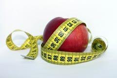 лента яблока измеряя Стоковые Изображения RF
