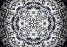 деньги вороха долларов предпосылки представляет счет доллар 100 Стоковые Фото