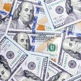 деньги вороха долларов предпосылки Стоковые Изображения