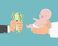 деньги младенца Стоковое фото RF