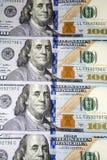 деньги серии долларов предпосылки Стоковая Фотография RF