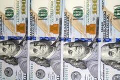 деньги серии долларов предпосылки Стоковое Фото
