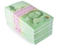 деньги тайские Стоковое Изображение
