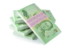 деньги тайские Стоковое Фото