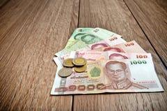 деньги тайские Стоковая Фотография RF