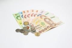 деньги тайские стоковая фотография