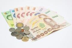 деньги тайские стоковые фото