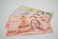 деньги тайские Стоковые Фотографии RF