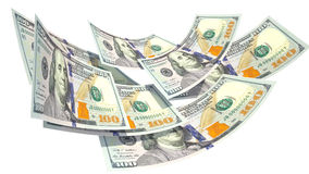 деньги Шарик денег Финансы Бизнес Доллары Стоковые Фото