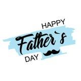 день будет отцом счастливого стильный дизайн и плоский дизайн Стоковые Фото
