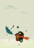 день ветреный Стоковая Фотография