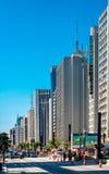 день города солнечный стоковая фотография