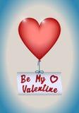 день карточки приветствуя счастливые valentines Стоковое фото RF