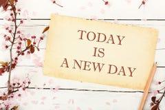 день новый Стоковое Изображение