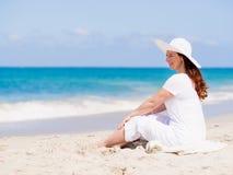 день пляжа красивейший Стоковая Фотография RF