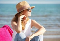 день пляжа красивейший стоковое изображение