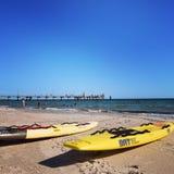 день пляжа ослабляя Стоковые Изображения RF