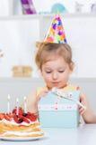 день рождения младенца счастливый Стоковое Изображение RF