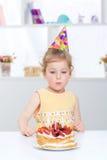 день рождения младенца счастливый Стоковые Фото