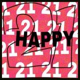 день рождения оргии Стоковые Изображения RF
