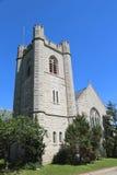 Епископская часовня St Cornelius центурион на острове губернаторов в гавани Нью-Йорка стоковое фото