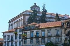 Епископский дворец в Порту, Португалии Стоковое фото RF