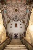 Епископский стиль рококо столетия дворца XVIII, Мурсия, Испания, Европа стоковые фотографии rf