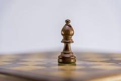 Епископ, игра в шахматы Стоковое Изображение RF