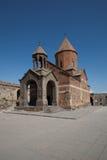 Ереван: Старая церковь около Арарата Стоковые Фотографии RF
