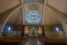 Ереван St Gregory собор иллюминатора внутрь стоковые фотографии rf
