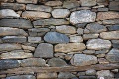 деревенская каменная стена Стоковое Изображение