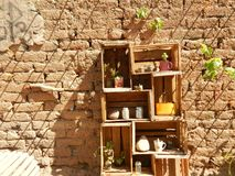 деревенская стена Стоковое Изображение