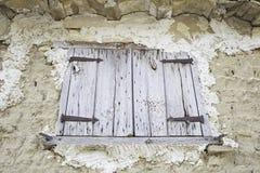 деревенское окно Стоковые Фото