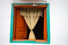 деревенское окно Стоковая Фотография