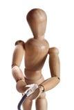 деревянная модель куклы манекена от gestalta Ikea Стоковое Фото