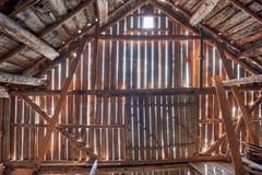 деревянное амбара старое Стоковые Фотографии RF