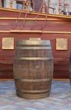 деревянное бочонка старое стоковое фото