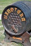деревянное бочонка старое Стоковая Фотография