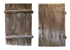 деревянное дверей старое Стоковые Изображения RF