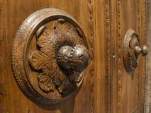деревянное двери нутряное Стоковое Фото